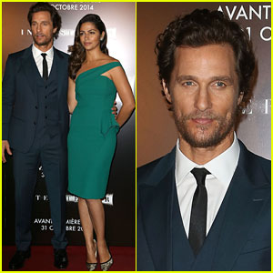 Matthew McConaughey & Camila Alves Couple Up for 'Interstellar'