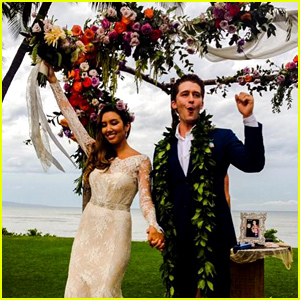 Matthew Morrison's Wedding Photo to Renee Puente Revealed - See Her Gorgeous Wedding Dress!