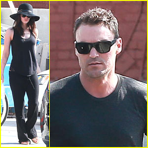 Megan Fox's Underwear Hangs Out During Lunch Date with Brian Austin Green