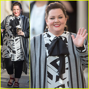 Melissa McCarthy Dishes on Adam Levine's Halloween Party on 'Jimmy Kimmel' - Watch The Clip Here!