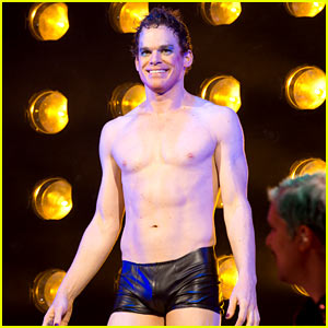 Michael C. Hall Goes Shirtless in Tight Tiny Shorts for 'Hedwig'!