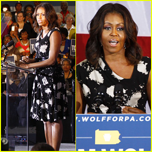 Michelle Obama Hits Philadelphia to Campaign for Democrat Tom Wolf!
