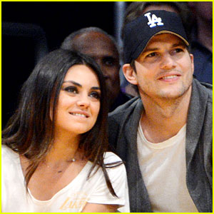 Mila Kunis & Ashton Kutcher Welco