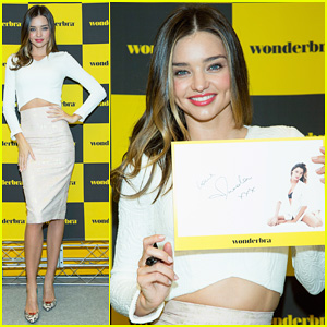 Miranda Kerr Is A Radiant Beauty for Wonderbra Autograph Session in Seoul!