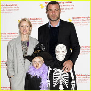 Naomi Watts & Liev Schreiber's Kids Celebrate Halloween Early - See the Cute Family Photos!