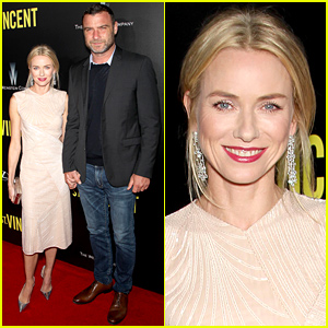 Naomi Watts Brings Her Hubby Liev Schreiber to Her 'St. Vincent' Premiere