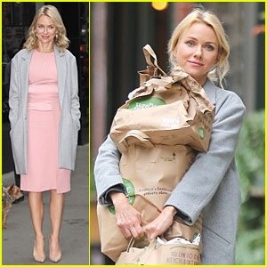 Naomi Watts Opens Up On Broadway Dreams on 'Good Morning America'!