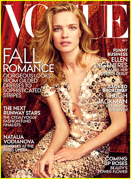 Russian Model Natalia Vodianova Lands Her Own 'Vogue' Cover!