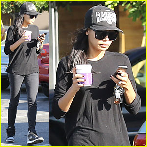 Naya Rivera Shows Her Support For the Oakland Raiders