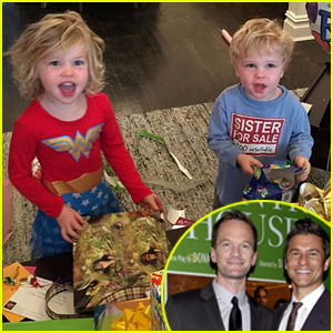 Neil Patrick Harris & David Burtka Share the Cutest Pics of Harper & Gideon On Their 4th Birthday!