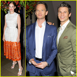 Neil Patrick Harris & David Burtka Support 'The Curious Incident' at the National Theatre Gala!