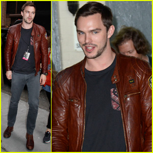 Nicholas Hoult Aims to Learn From Working with Good People