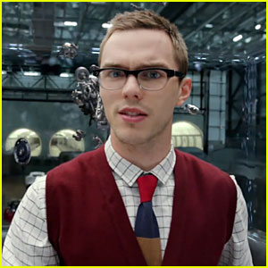 Charming Nicholas Hoult Is A Geek Chic Villain In U0027Jaguaru0027 Commercial