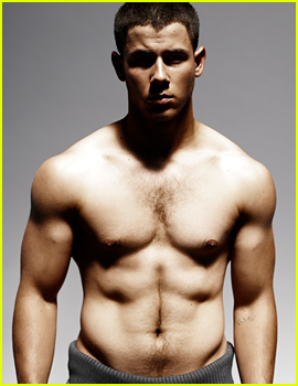 Nick Jonas' Shirtless Rock Hard Body Is Insane - See His 'Details' Spread!