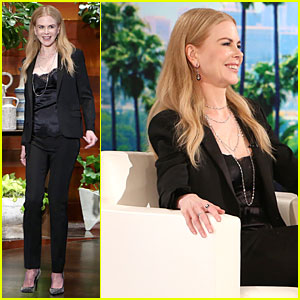 Nicole Kidman Can't Stop Gushing About Husband Keith Urban on 'Ellen' - Watch Now!