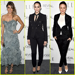 Nikki Reed & Emmy Rossum Stun at Elle Women in Hollywood Celebration