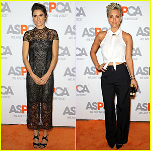 Nikki Reed & Kaley Cuoco Grab ASPCA Compassion Awards For Animal Welfare Contributions