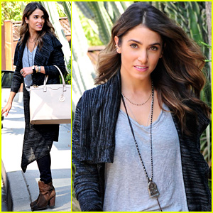 Nikki Reed Takes Care of Some Errands After NYC Trip
