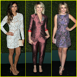 Nina Dobrev & Julianne Hough Buddy Up for Michael Kors Event