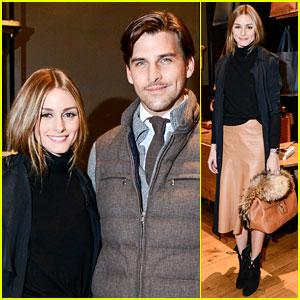 Olivia Palermo & Husband Johannes Huebl Are One Hot Couple for Ghurka