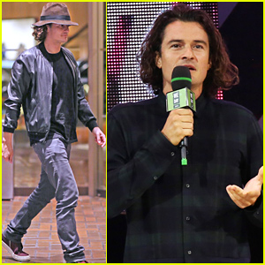 Orlando Bloom Speaks at We Day After Selena Gomez Takes the Stage