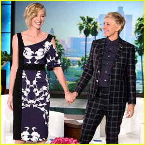 Portia de Rossi Talks Baby Rumors on 'Ellen DeGeneres Show'!
