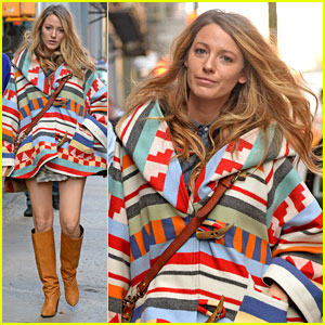 Pregnant Blake Lively Goes Shopping for Baby Clothes in NYC!