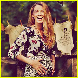 Pregnant Blake Lively Shares More Baby Bump Photos!
