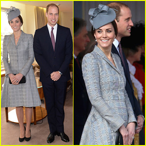 Pregnant Kate Middleton Makes First Offical Appearance Since Suffering from Hyperemesis Gravidarum - See The Pics Here!
