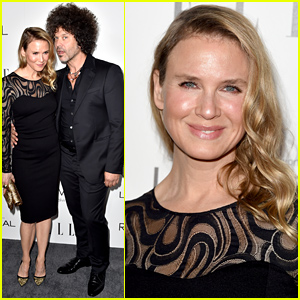 Renee Zellweger Brings Her Boyfriend Doyle Bramhall II to Elle Women in Hollywood Event!