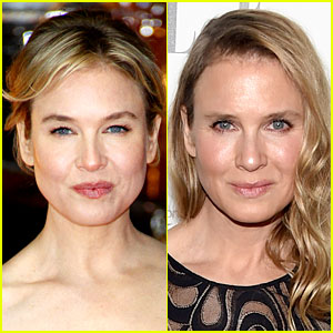 Renee Zellweger Breaks Sile