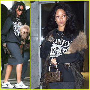 Rihanna Braves the Dentist's Office in NYC