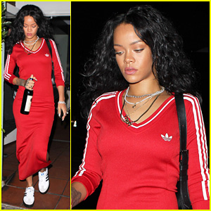 Rihanna Treats Herself to a Wine Night After Rogue Man Launch!