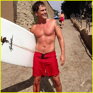 Rob Lowe Injures Himself While Surfing, Posts a Shirtless Selfie to Tell Fans He's Okay!