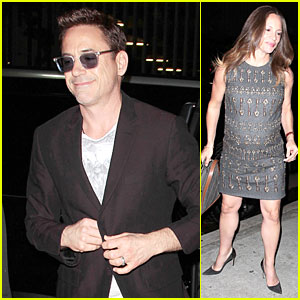 Robert Downey Jr. Dishes On The Key to a Happy Marriage!