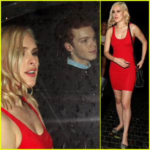 Rumer Willis & Cameron Monaghan Leave the Chateau Marmont Together
