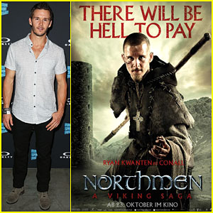 Ryan Kwanten Looks Ready to Fight in 'Northmen' Poster