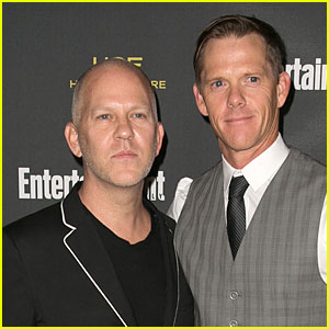 Ryan Murphy with handsome, Husband David Miller