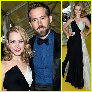 Ryan Reynolds & Rachel McAdams Get Inducted Into Canada's Walk of Fame!
