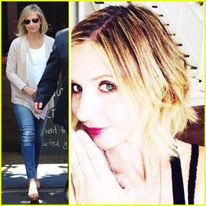 Sarah Michelle Gellar Shows Off Brand New Short Bob Haircut!