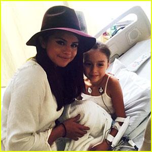 Selena Gomez Makes a Surprise Visit to Children's Hospital Los Angeles