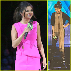 Selena Gomez is Hot Pink Host at We Day Event