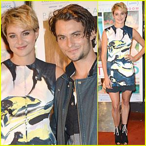 Shailene Woodley Goes Blonde For 'White Bird in a Blizzard' Paris Premiere!