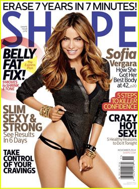 Sofia Vergara Goes Pantless On 'Shape' Magazine November 2014 Cover