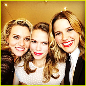 Sophia Bush Looks Happy For 'One Tree Hill' Reunion in Paris