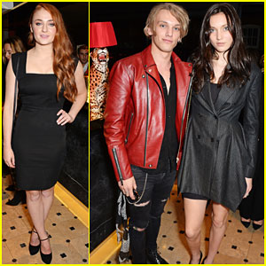 Sophie Turner & Jamie Campbell Bower Support Leading Ladies