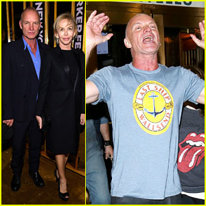 Sting Surprises NYC Fans with Special Sidewalk Performance!