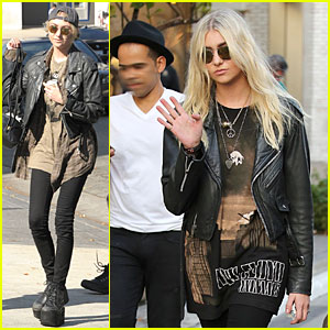 Taylor Momsen Is Fresh-Faced Before Concert at Wiltern