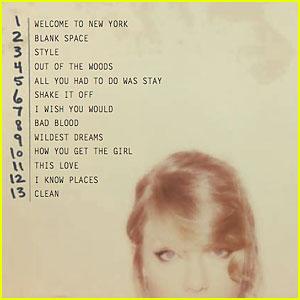 Taylor Swift Reveals '1989' Track Listing on Instagram!