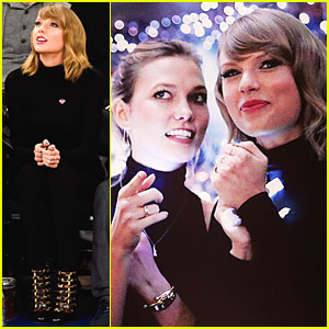 Taylor Swift & BFF Karlie Kloss Are Beautiful New York Knicks Cheerleaders